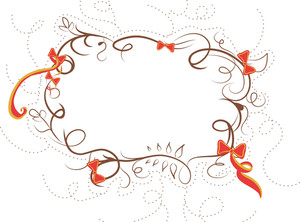 Christmas Frame Vector Element