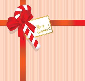 Christmas Gift. Vector.