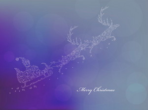 Christmas Greeting Card Vector Illustration