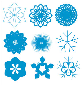 Christmas Holiday Snowflakes