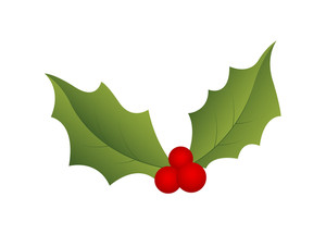 Christmas Holy Leaf