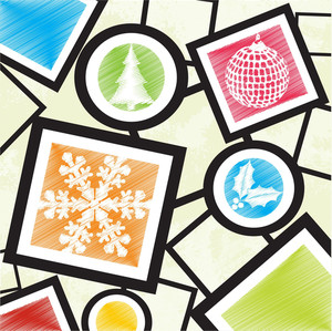 Christmas Icons Design