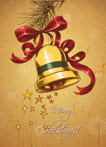 Christmas Illustration With Bells