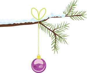 Christmas Ornament Vector Element