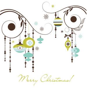 Christmas Retro Decorations