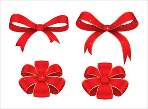 Christmas Ribbon Bow Collection