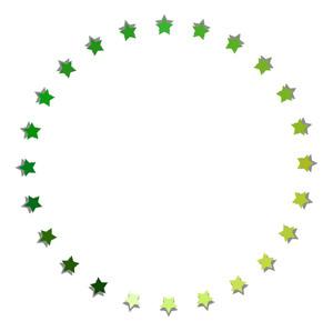 Christmas Stars Circle