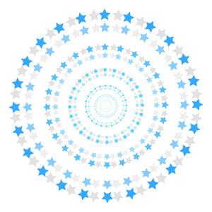 Christmas Stars Circles
