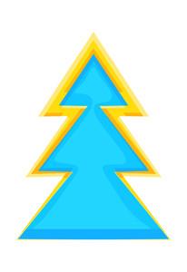 Christmas Tree Decorative Design