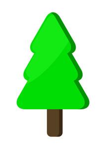 Christmas Tree Festive Element