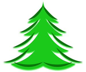 Christmas Tree Frame Shape