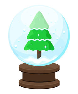 Christmas Tree Glass Ball