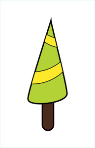 Christmas Tree Vector Art