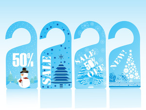 Christmas Vector Sale Tag Series