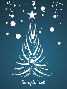 Christmass Tree Vector