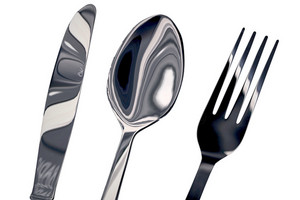 Chromed Silverware