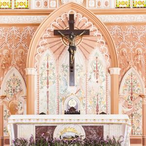 church interior indoor architecture
