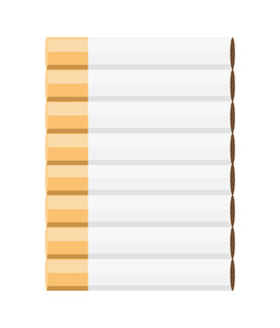 Cigarettes Pattern Vector Illustration