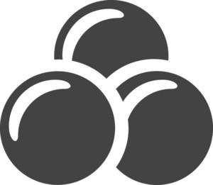 Circle 3 Glyph Icon