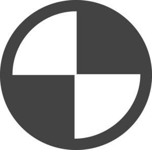Circle 4 Glyph Icon