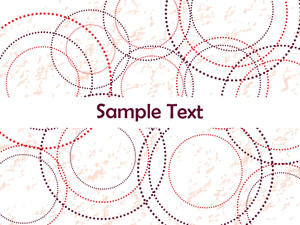 Circle Pattern Background Illustration
