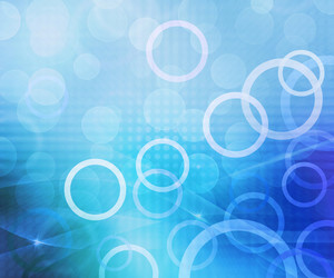 Circles Blue Abstract Background