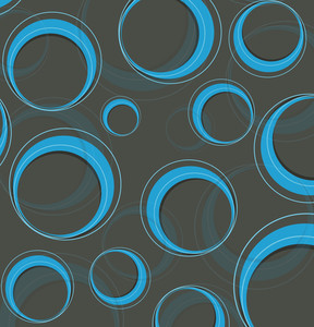 Circles Vector Background