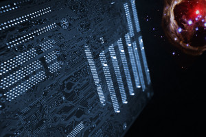 circuit-board, communication and outer space