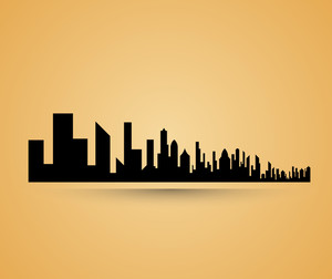 Cityscape Buildings Background