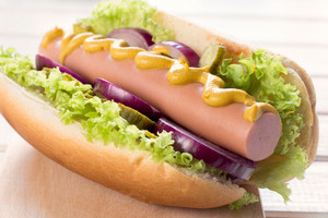 Classic American Hot Dog