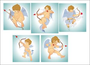 Classic Vector Cupids
