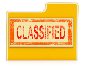 Classified File Shows Private Documents Or Papers