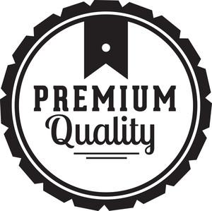 Clean Badges Vector Element