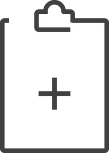 Clipboard 3 Minimal Icon