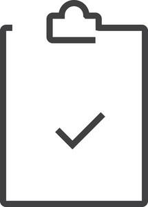 Clipboard 4 Minimal Icon