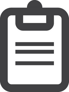 Clipboard Stroke Icon