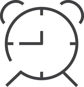 Clock 4 Minimal Icon