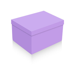Close Purple Box