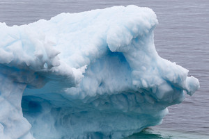 Close up of an iceberg