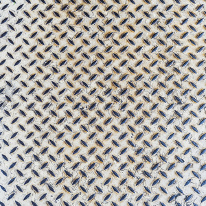 Close up white metal floor texture background detail