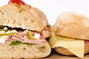 Closeup Sandwiches