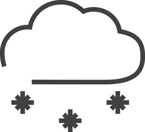 Cloud 5 Minimal Icon