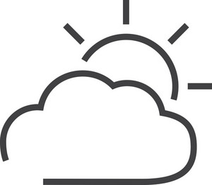 Cloud 6 Minimal Icon