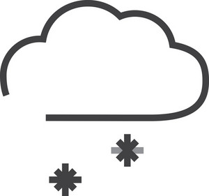 Cloud 7 Minimal Icon