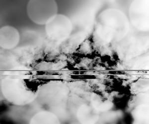 Cloud Black Background