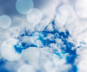 Cloud Blue Background