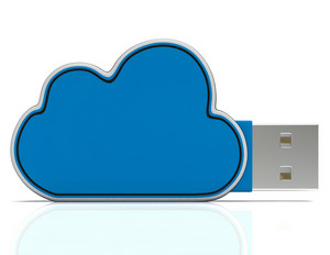 Cloud Computing Storage Shows Network Or Internet Networking