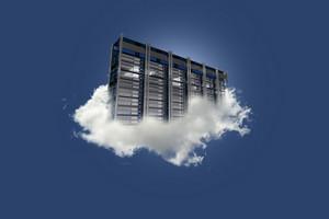 Cloud Server On The Sky