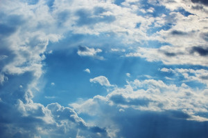Clouds In Sky Background