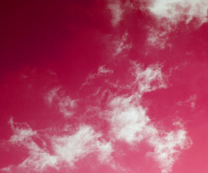 Clouds On Pink Sky Backdrop